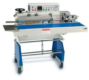 Poly Bag Sealer Variable Conveyor Belt with Printer - AIE-B7202