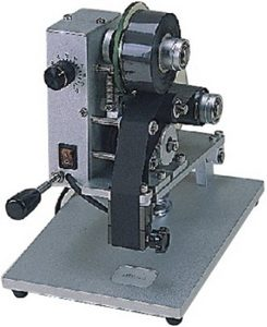 Manual Hot Stamp Imprinter (3 Lines) - AIE-DHH