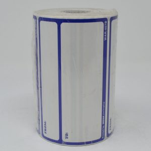 """3 x 5"""" Blue To/ From Shipping Labels (500 Labels) - Miller-WAR-407B"""