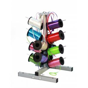 "12 Spool Curling Ribbon Dispenser - Rolls up to 9"" - 18"" Capacity - Bulman-M712KD"