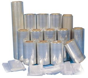 "16"" x 3500' 75 Gauge POF Shrink Film - AIE- 16-75-35P"