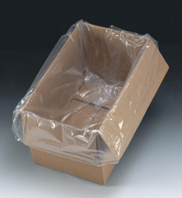 """15"""" x 9"""" x 23"""" Low Density Gusseted Poly Bag (1 mil)"""