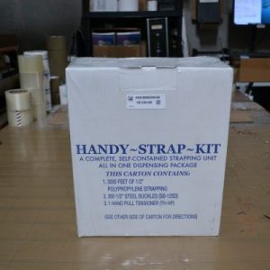 "STRAPPING KIT (1/2"" Poly strap with accessories)"