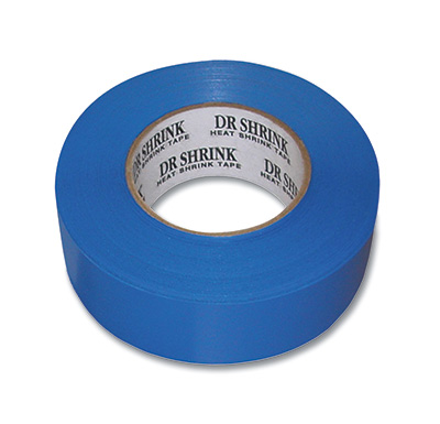 "2"" x 180' Marine Shrink Tape - Blue"