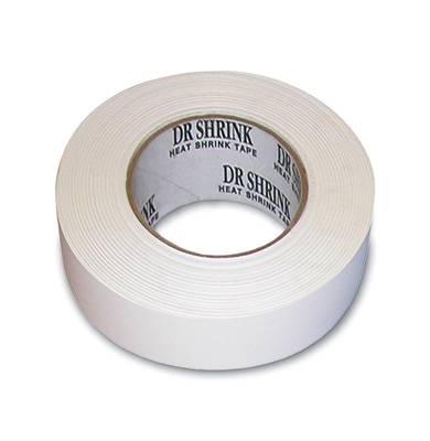 "2"" x 180' Marine Shrink Tape - White"
