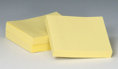 "1-1/2"" x 2"" 3M™ Post-It® Notes - Yellow"