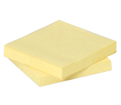 """3"""" x 3"""" 3M™ Post-It® Pop-Up Notes - Yellow"""