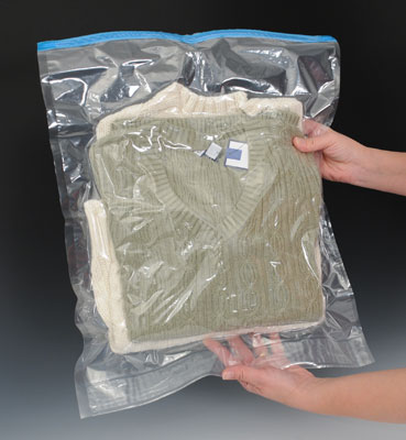 """17"""" x 22"""" Space Saving Storage Bags - Hand Expelled"""