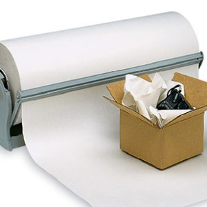 """12"""" x 1700' Newsprint Wrapping Paper on a Roll (30 lb.)"""
