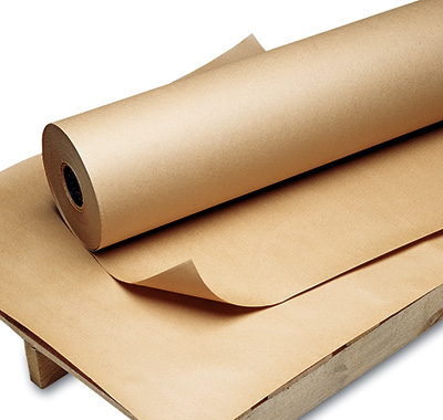 "36"" x 600' Poly-Coated Kraft Wrapping Paper (60 lb.)"
