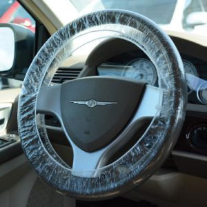 """Steering Wheel Cover - Double Elastic Band - Up to 24"""""""