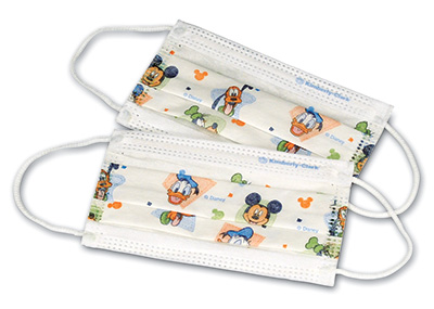 Kimberly-Clark® Pleated Children's Face Mask with Disney® Characters
