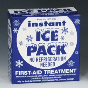 "6"" x 9"" Disposable Instant Cold Pack - Boxed"