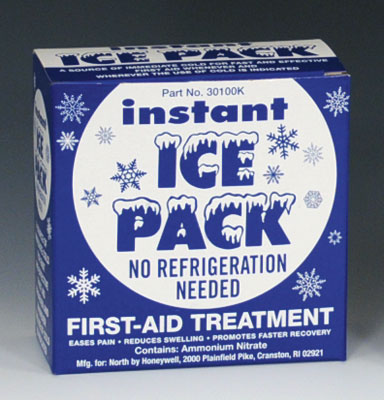 """6"""" x 9"""" Disposable Instant Cold Pack - Boxed"""