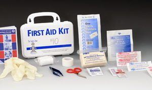 Safety Zone Plastic First Aid Kit - 10 Person
