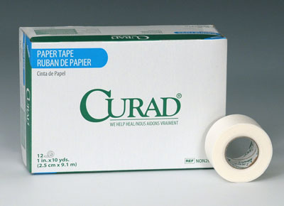 """1"""" x 360"""" Curad® Latex-Free Breathable Paper Tape"""