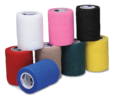 "1-1/2"" x 15' Hartmann USA Co-Lastic® LF Elastic Bandage - Assorted Colors"