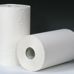 "9"" x 400' SofPull® Paper Towels on a Roll - White"