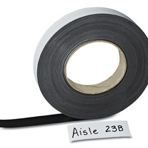 """1"""" Magnetic Roll Stock with Writing Area"""