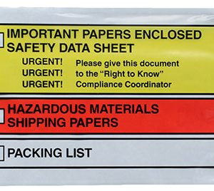 "6-1/2"" x 10"" Back-Loading Printed Press-on Envelope"