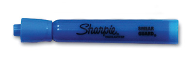 Sharpie® Accent® Tank Style Highlighter with Chisel Tip - Blue