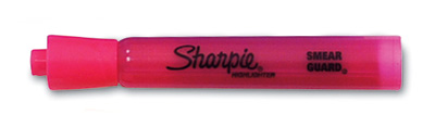 Sharpie® Accent® Tank Style Highlighter with Chisel Tip - Fluorescent Pink