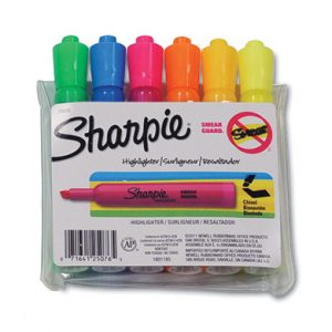 Sharpie® Accent® Tank Style Highlighter with Chisel Tip - Assortment Pack