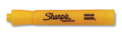 Sharpie® Accent® Tank Style Highlighter with Chisel Tip - Yellow