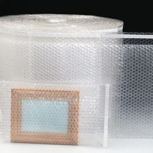 "4-1/2"" x 5"" Sealed Air® Bubble Wrap® Brand Triple Layer Bubble Bags® on a Roll (3/16"") (900 per carton)"