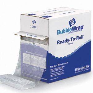 """12"""" x 65'  Sealed Air® Bubble Wrap® Brand Multi-Purpose Grade Cushioning in a Ready-to-Roll® Dispenser Carton (1/2"""")"""