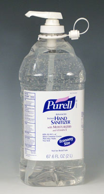 Purell® Instant Hand Sanitizer in a Pump Bottle - Economy Size (67.6 oz.)