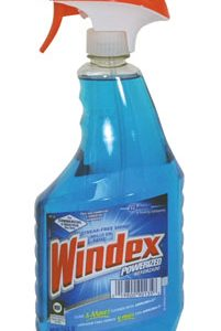 Windex Powerized Glass Cleaner with Ammonia-D - (26 oz. Trigger Spray) (4 Bottles) - AB-750-1-55