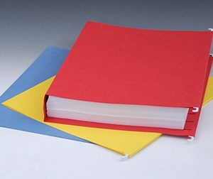 "Smead Hanging Box Bottom File Folders with 2"" Expansion - 11 PT. (Letter Size) - Assorted Colors"