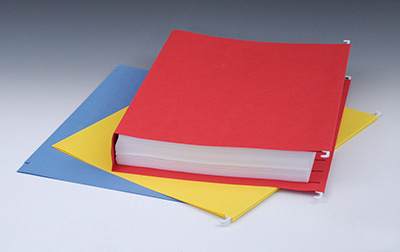 """Smead Hanging Box Bottom File Folders with 2"""" Expansion - 11 PT. (Letter Size) - Assorted Colors"""