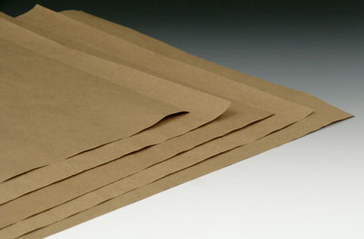 "24"" x 36"" Kraft Wrapping Paper Sheets (50 lb.)"