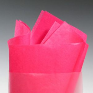 "20"" x 30"" Gift Grade Tissue Paper Sheets - Cerise (10 lb.)"