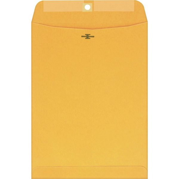 "6 x 9"" Small Manila Clasp Envelope - Quality Park - (100 Envelopes)"