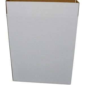 MEDIUM ART 28 x 5-1/2 x 38 275#C White Art Box (5 Boxes)