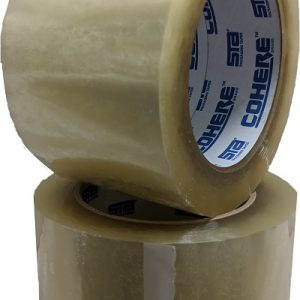 "COHERE 1080 2"" X 1000YD  1.8MIL CLEAR MACHINE TAPE 6/CASE"