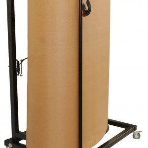 "Bubble Dispenser - Vertical, Single Face Corrugated, Poly and Foam Dispenser - Fits 48"" Roll (1 Dispenser) - EP-6550-48"