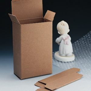 "1-1/2"" x 1-1/2"" x 4"" Kraft Reverse-Tuck Box (.024"") (500 per carton)"
