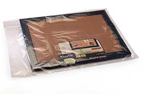 "10 X 28"" 2 Mil Flat Poly Bags (1,000 Bags)"
