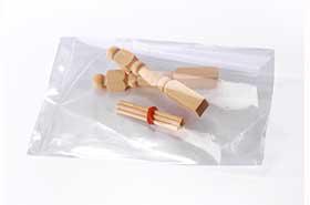 "2 X 4"" 1.5 Mil Flat Poly Bags (1,000 Bags)"