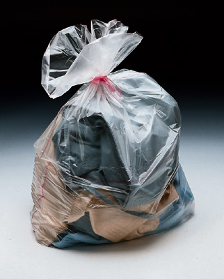 """28"""" x 39"""" Water Soluble Laundry Bag (1 mil) (100 per carton)"""