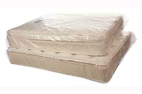 "1.5 Mil Poly Mattress Covers -X-King 78 x 12 x 90"" (100/Roll)"