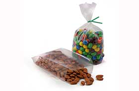 """10 X 8 X 24"""" 1.5 Mil Gusseted Polypropylene Poly Bags (500 Bags)"""
