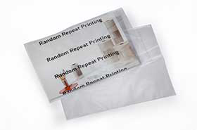 "9 x 12"" 2 Mil Clear Postal Approved Mailing Poly Bags (1,000 Bags)"