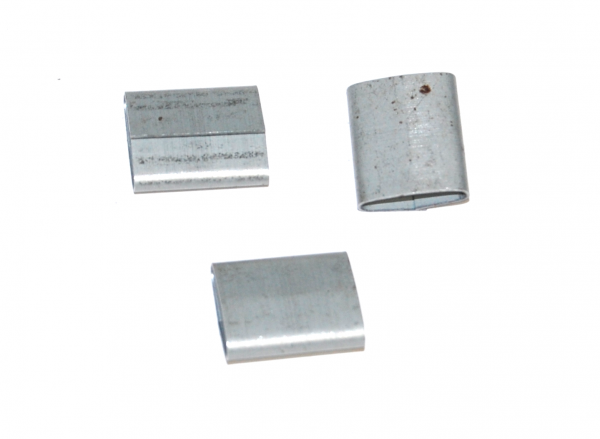 "Steel Strapping Seals - 1/2"" Push-On Seals (2500/Case) - S12P02"