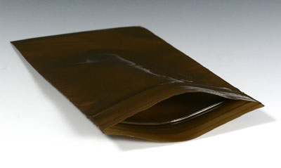"2-1/2"" x 9"" Amber Zipper Bag (3 mil) (1000 per carton)"