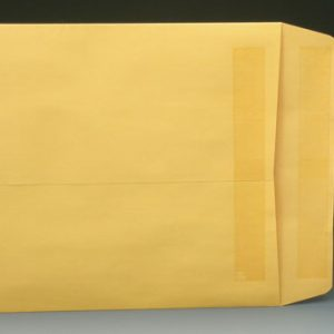 "12"" x 15-1/2"" Redi-Seal Self Seal Kraft Envelopes (28 lb.) (100 Envelopes)"